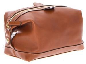 Korchmar Lux Collection Ryder Toiletry Kit - Coffee