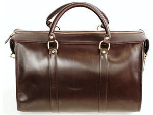 Korchmar Lux Collection Jefferson Excusion Duffel - Mahogany
