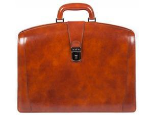 Bosca Old Leather Collection Partners Briefcase - Amber