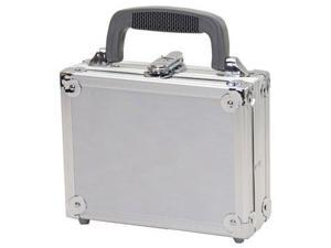 "TZ Case 8"" Aluminum Packaging Case Silver"