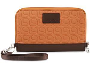 Pacsafe RFIDsafe W200 RFID Blocking Travel Wallet - Apricot