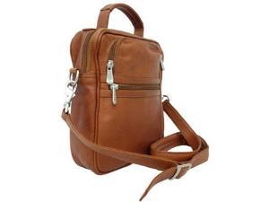 Piel Leather Radio/video/camera Bag - Saddle