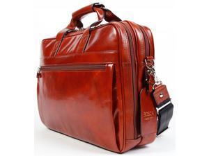 Bosca Old Leather Stringer Bag - Cognac