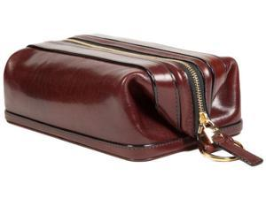 "Bosca 10"" Dopp Kit Dark Brown Old Leather"