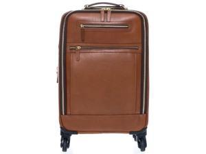 Korchmar Lux Collection Emerson 4 Wheel Carry On - Walnut