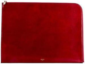 "Bosca Old Leather 16"" Envelope Brick Red           - Brick Red"