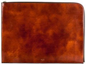"Bosca Old Leather 16"" Envelope Amber               - Amber"