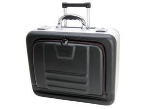 """TZ Case 8"""" Wheeled Molded Eva Laptop Case - Black Hole"""