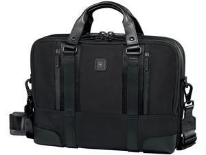 "Victorinox Lexicon Professional LaSalle 13"" Slimline Laptop Brief Black"