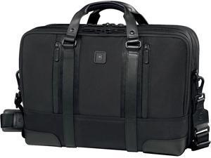 """Victorinox Lexicon Professional Lexington 15.6"""" Expandable Laptop Brief Black"""