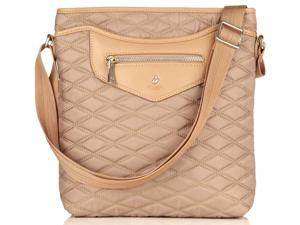 Knomo Fitzrovia Collection Maple iPad Cross Body - Taupe