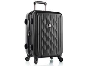 """Scala 21"""" Expandable Carry On Spinner - Black"""