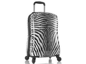 "Zebra Equus 21"" Expandable Carry On Spinner"