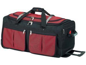 "15 Pocket 22"" Wheeled Duffel - Red"