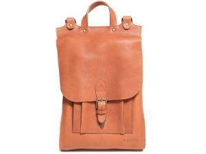 Houston Leather Backpack - Cognac