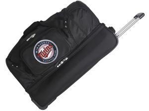 Denco Travel/Luggage Case (Rolling Duffel) for Travel Essential - Black