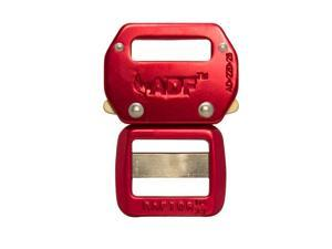 """Raptor II Tactical Military Police Aluminum Quick Release 1"""" Belt Buckle Red 50 Pack"""