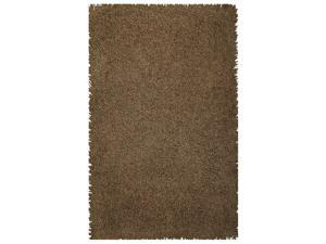 Sands Goa Brown Super Thick Shag Area Rug (5'X8')