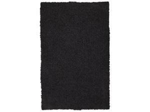 Sands Goa Charcoal Super Thick Shag Area Rug (5'X8')