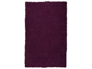 Sands Goa Purple Super Thick Shag Area Rug (5'X8')