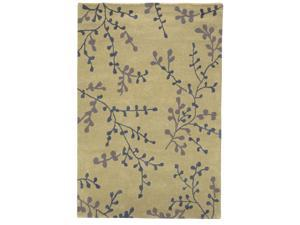 Sands Modern Highlights Bloom Beige Area Rug (5'X8')