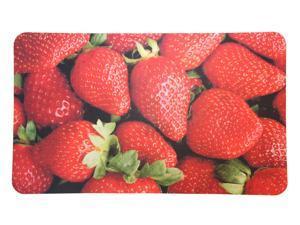 "Strawberry Cushioned Kitchen Floor Mat (18""x30"")"
