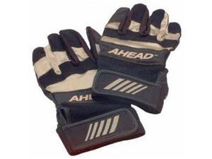 Ahead Black Drummer's Gloves with Wrist Support (Large)