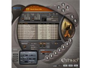 MOTU Ethno Instrument 2 Universal World/Ethnic Virtual Instrument Plug-in