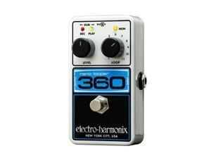 Electro-Harmonix Nano Looper 360 Delay & Looper Guitar Effect Pedal