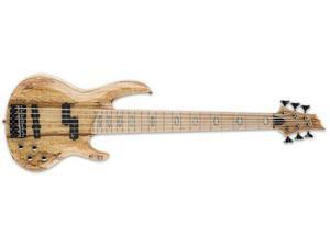 ESP LTD RB-1006SM Natural Spalted Maple 6-String Electric Bass Guitar