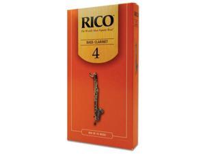 Rico Bass Clarinet Reeds (Box of 25)(Strength 4)