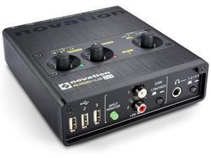 Novation Audiohub 2x4 Compact Audio Interface & USB Hub