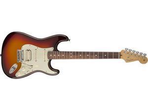 Fender American Deluxe Strat Plus HSS Electric Guitar (Mystic 3-Color Sunburst)