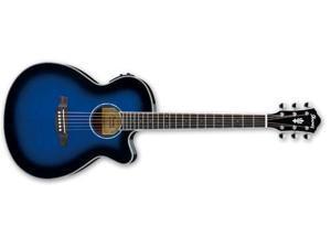 Ibanez AEG10II Acoustic-Electric Guitar (Trans Blue Burst)