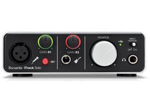 Focusrite iTrack Solo Audio Interface (Lightning Version)