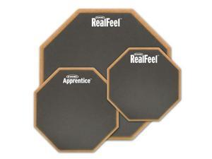 """Evans Real Feel 6"""" Double Sided Practice Pad"""