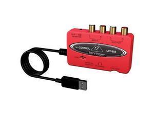 Behringer U CONTROL UCA222 Audio Interface