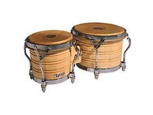 Latin Percussion LP201A3 Generation III Bongos, Natural w/ Traditional Rims