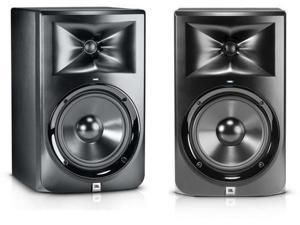"JBL LSR308 Two-Way Powered 8"" Studio Monitors (Pair)"