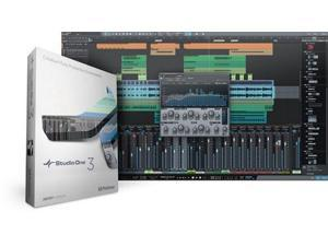 Presonus Studio One 3 Artist Digital Audio Workstation (Artist to Pro w/Product Key Card)