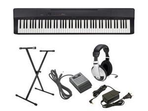 Casio Privia PX-160 5 pc Ultra-Premium Keyboard Package With Headphones, Stand, Sustain Pedal and Power Supply