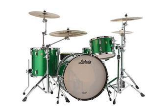 """Ludwig 4-Piece Classic Maple Pro Beat 24 Shell Pack w/ 24"""" Bass Drum (Green Sparkle)"""