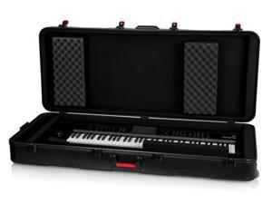 Gator GTSA-KEY76D TSA ATA Deep 76-note Keyboard Case with Wheels