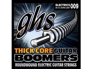GHS HC-GBXL Thick Core Boomers, Electric Guitar, Extra Light 9-43