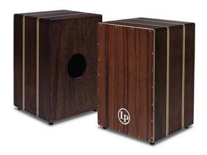 Latin Percussion Peruvian Solid Walnut String Cajon