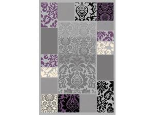 "LA Rugs Urban  7'3""X10' Multi-Color Area Rug 521-99-7310"