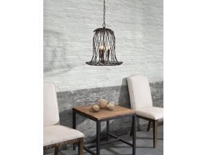 Zuo Zuo Chert Ceiling Lamp Rust - 98332 98332