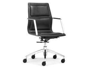 Zuo Zuo Luminary Low Back Office Chair Black - 206186 206186