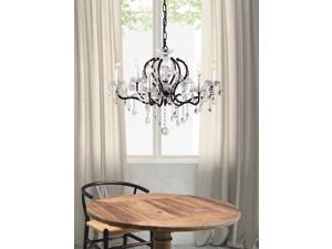 Zuo Zuo Gypsum Ceiling Lamp Rust Black & Crystal - 98265 98265