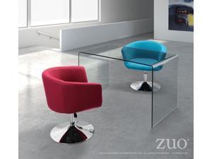 Zuo Zuo Caravan Desk Clear Glass - 404082 404082